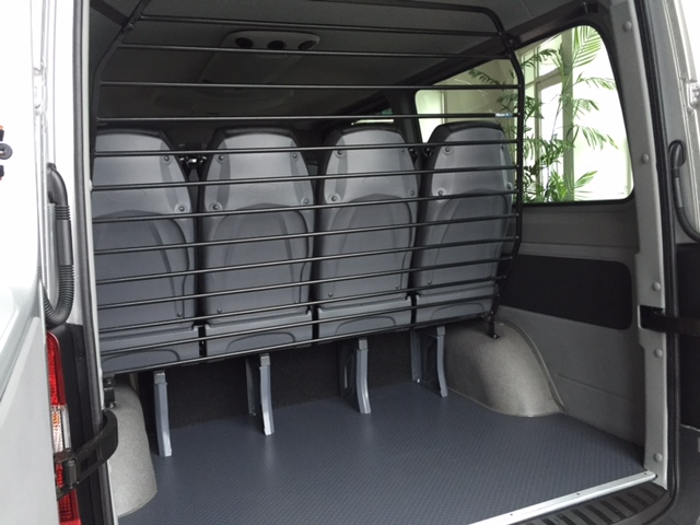 313 12 seat mini bus with 10 leather rear seats