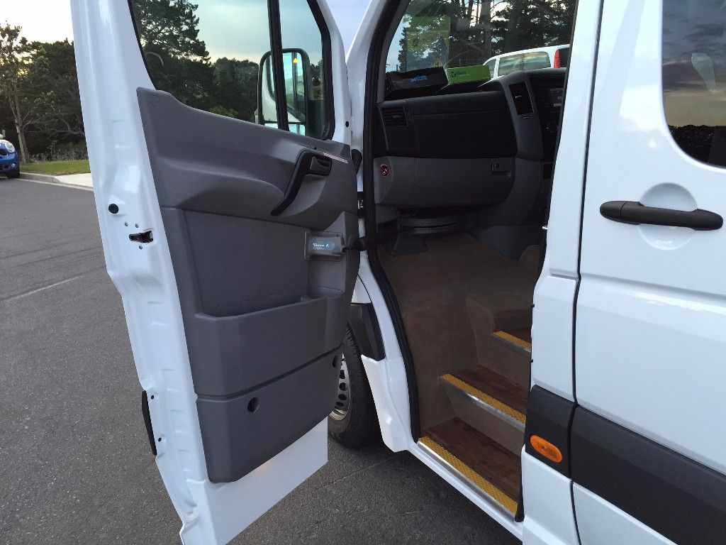 20 seat Mini Bus with front entry door